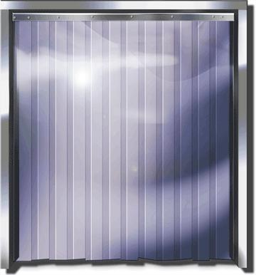 Strip Doors Curtains A Low Cost Solution For Temperature Retention