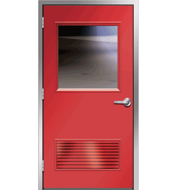 Hollow Metal Door with Half Lite  sc 1 st  Universal Door u0026 Equipment Ltd & Hollow Metal Door with Half Lite | Hollow Metal Doors u0026 Passage ... pezcame.com